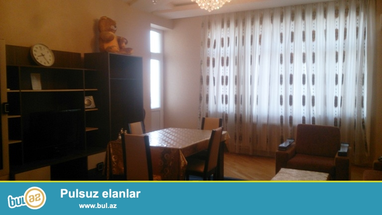 Новостройка! Cдается 3-х комнатная квартира в центре города, в Насиминском районе, в 3 МКР, рядом с Папанинским мостом...