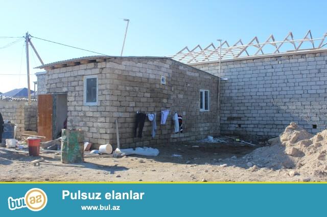 Sabuncu rayonu Yeni Ramana qəsəbəsində 1,5 sot torpaq sahəsində 3 daş kürsülü,ümumi sahəsi 56 kv...