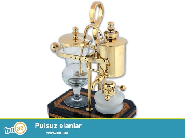 Страна: Испания<br /> Материал: Термостекло, латунь, медь, золотая чеканка<br /> Габариты: 25х19х37 см<br /> Опции: Период работы от одного элемента: 12 месяцев