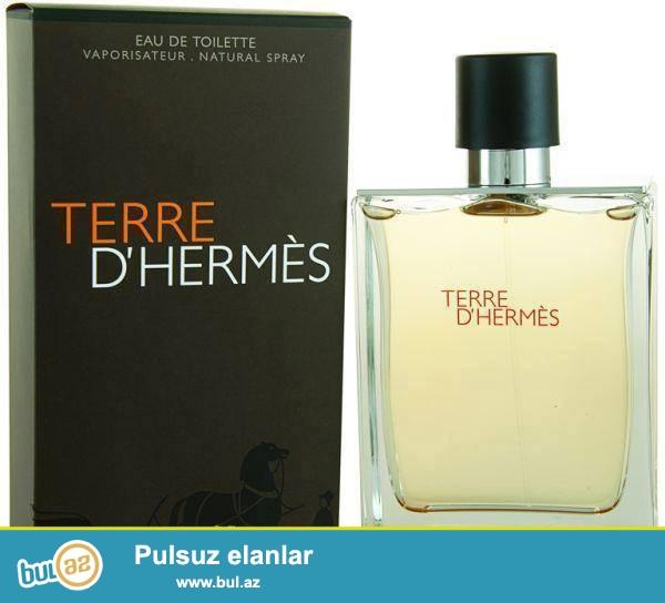 Beyler ucun gozel bir etir,Terre de Hermes 100 ml Dubay