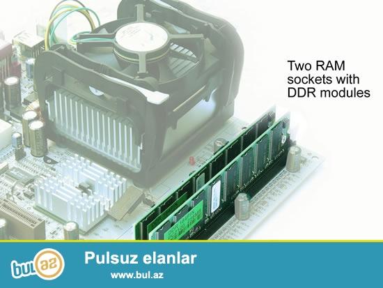 """Asus CTX monitor 17""""-40azn<br /> DDR2 Ram 1gb 2eded..."""