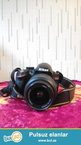 Nikon satilir,d3200,ela veziyyetde,ustunde usb ve adaptir verilir