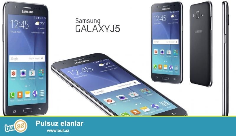 Samsung galaxy j5 satıram təzə di 2 həftə di almışam təcili satıram pul lazımdı heç bir prablemi yoxdu əgər fikri cidi olan varsa zəng eləsin...