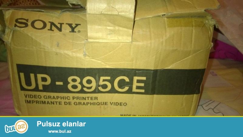 sony video graphic printer up 895 ce.made in japon.