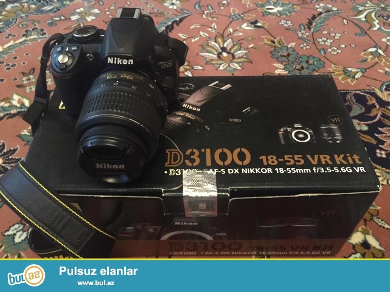 Продам фотоаппарат Nikon D3100 18-55 VR Kit...