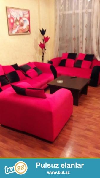 Новостройка! Cдается 2-х комнатная квартира в центре города, в Насиминском районе, рядом с бывшей гостиницей «Гарабаг»...
