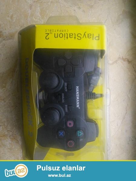 Продаю джойстики для Playstation 2 новые в упаковке 17 манат штука...