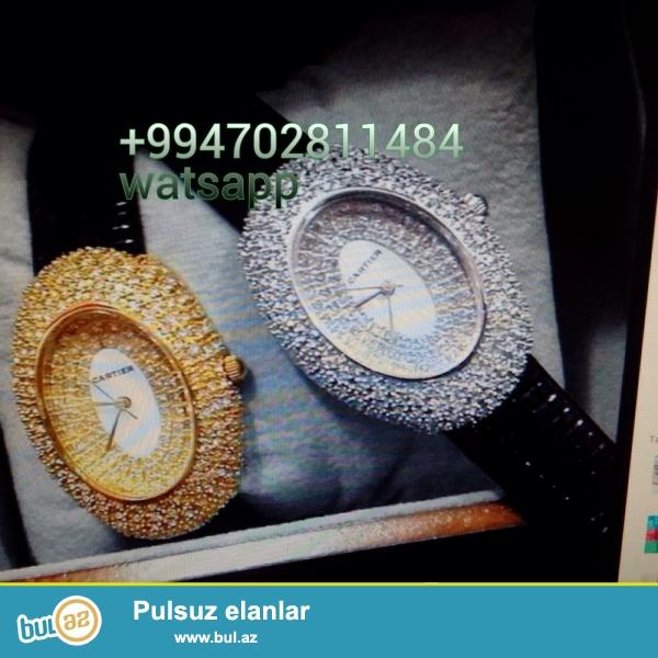 Cartier qadin saati karopka ve hediyye paketi ile birlikde catdirilma bir gun erzinde nar nomrede watsapp vardir diger saat modelleri ile maraqlanan ciddi fikirli sexsler elaqe saxlaya bilerler