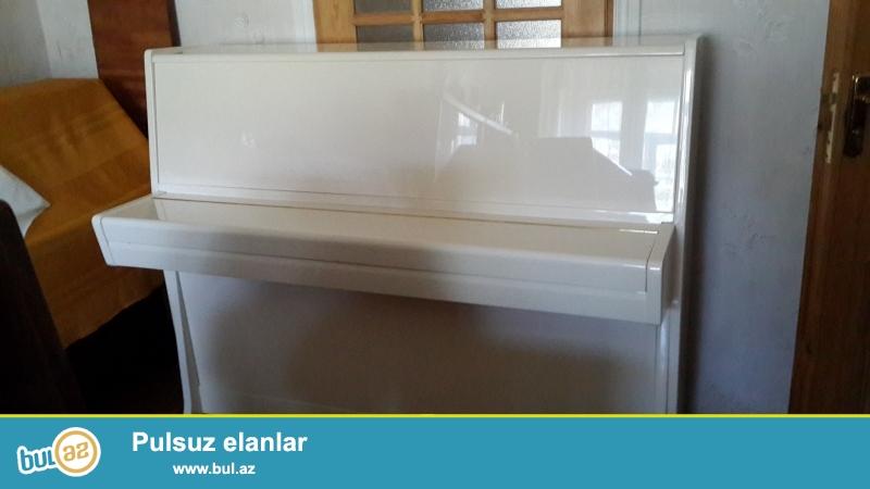 krem rengli  qeyer  pianinosu  ideal  veziyyete  koklenib gozel  ses lenmesi var