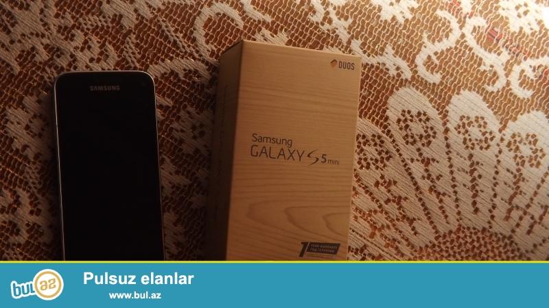Samsung Galaxy S5 mini satiram.1ildi almisam.Hec bir problemi yoxdur...