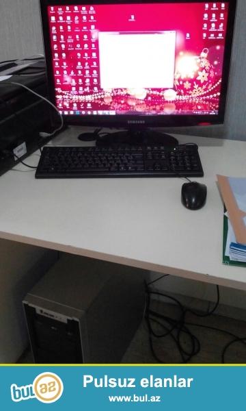 CPU Core 2 Quad 3340  - <br /> Sata 250Gb <br /> Nvidia Geforce GT 220 ¬– 2 GB<br /> DDR2 – 4GB<br /> DVD+R<br /> Keyboad T024B<br /> 1680x1050 Samsung<br /> Keyboad T024B<br /> Mouse
