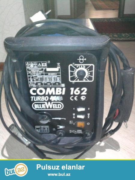 Təzə Qaynaq (svarka) aparatı, yarım avtomat Blueweld Combi 162 Terbo (Italiya)...