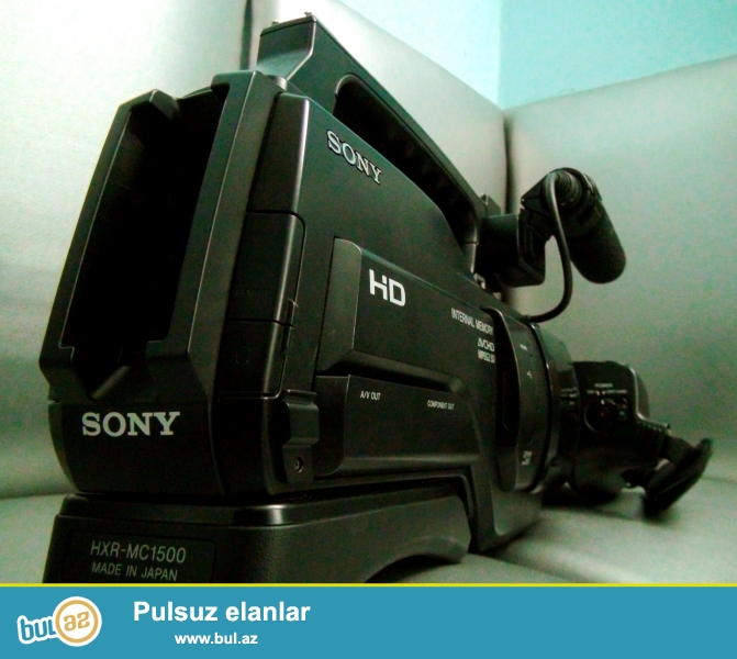 Teze SONY  MC 1500 video kamera satilir.<br />