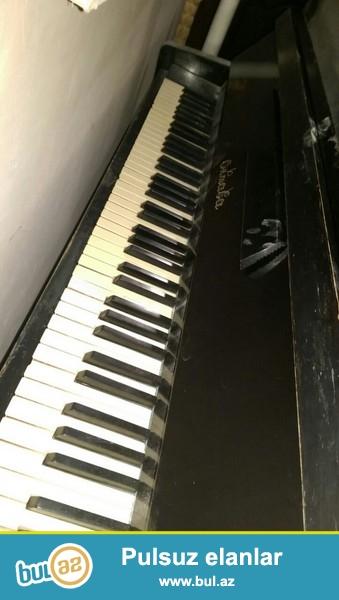 cox tecili satilir. yaxsi veziyyetde oktava pianosu...