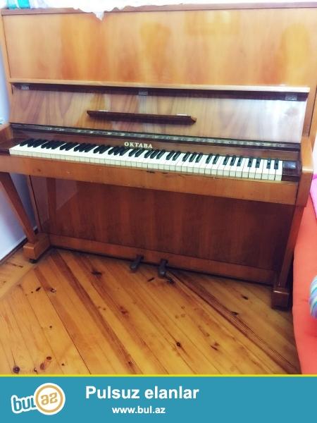 Çox yaxşı veziyyetde ve uyğun qiymete Oktava Model Pianino...