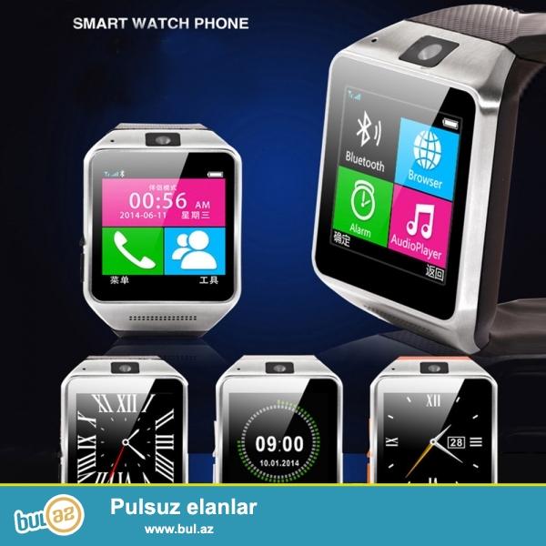 «Smart Saat»agilli saat.Telefon kimi istifade edilir...