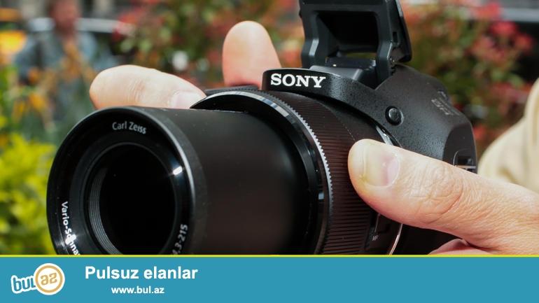 Sony DSC-H300 satılır. Teze vəziyyətdədir.20.1 Mega pixels və 35x optical zoom ( 35 dəfə yaxınlaşdırır...