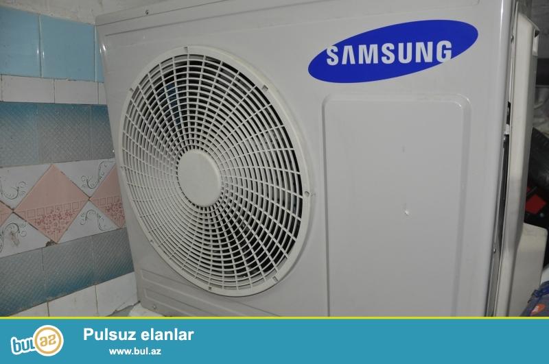 Samsung 120kv 24000 ela veziyyetde 10 gun ishleyib karopkali zemaneti qazi ustundedir senedleri var...