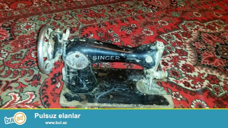 Singer tikiş maşını satılır. Qiyməti razılaşma yolu ilə.
