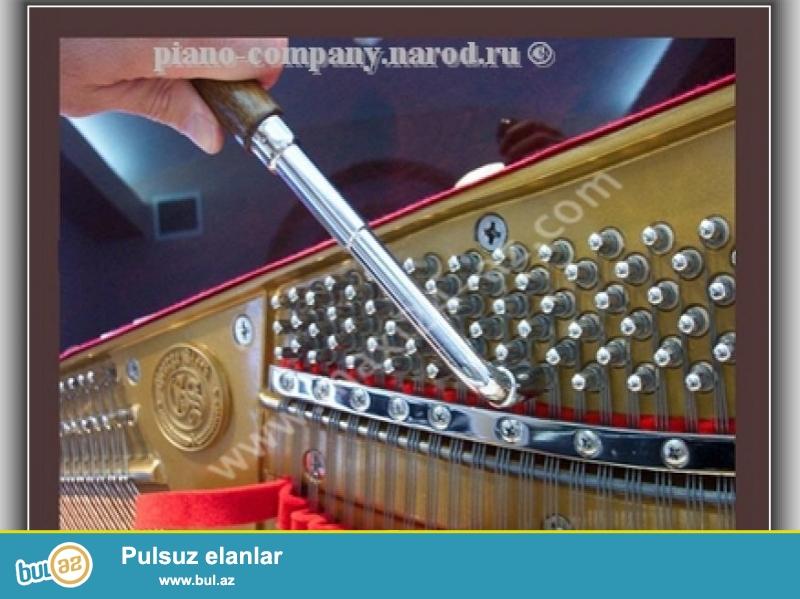 pianino və royal köklənməsi təmiri və restovrasiyasi