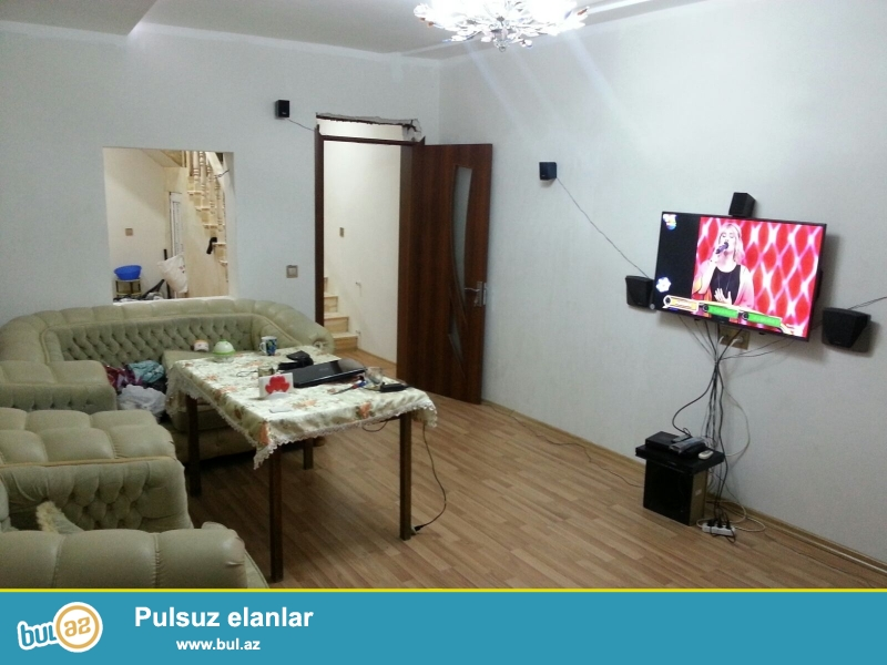 Срочно продается новый, 2 этажный дом  в Ясамале,  ок...