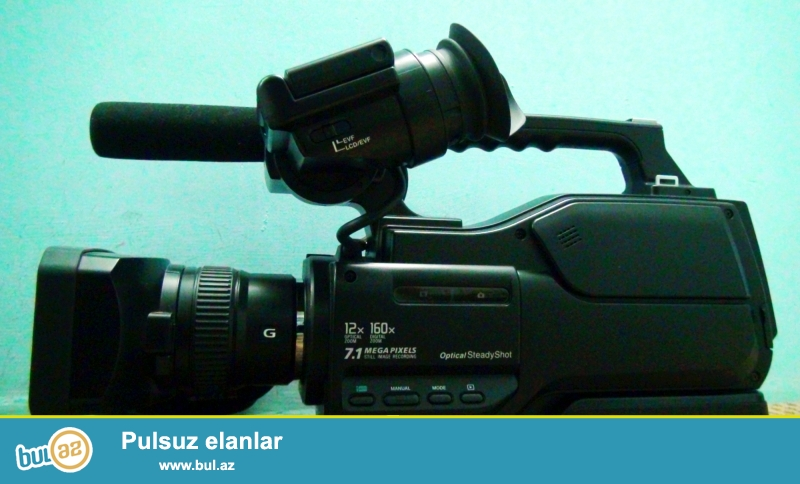Teze SONY  MC 1500 video kamera satilir.<br /> <br /> 3 dash.<br /> 1 sumka.<br /> 1 video light.