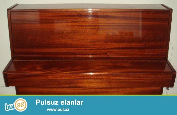 Belarus Pianosu satılır.<br /> Rəngi qəhvəyidir...