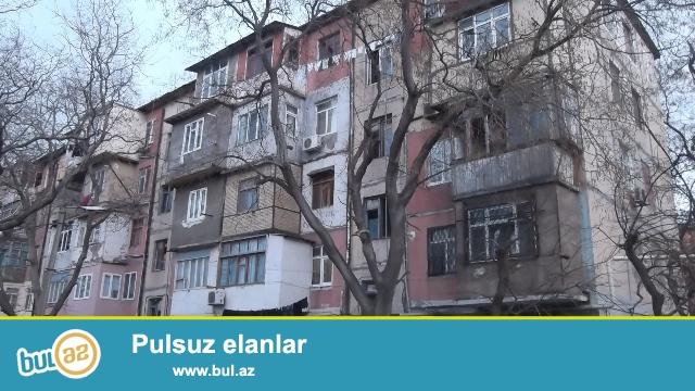 """Nəsimi rayonu, 4mkr, """"Qərənfil"""" uşaq baxçasının yaxınlığında, fransız layihəli binada 2 otaqlı mənzil satılır..."""