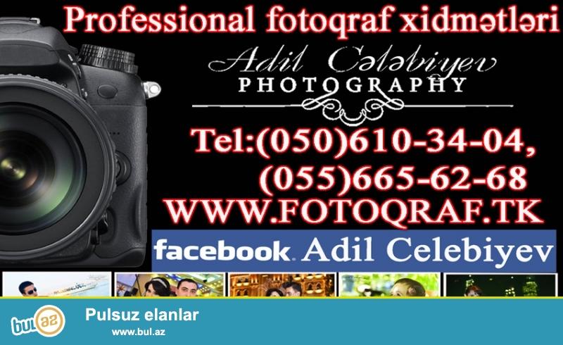 Professional Fotoqraf və Video xidmətləri (fotossesiya)...