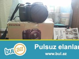 Fujifilm Finepix S 3200 modeli 100 azn satilir. 14 MegaPixel + 3...