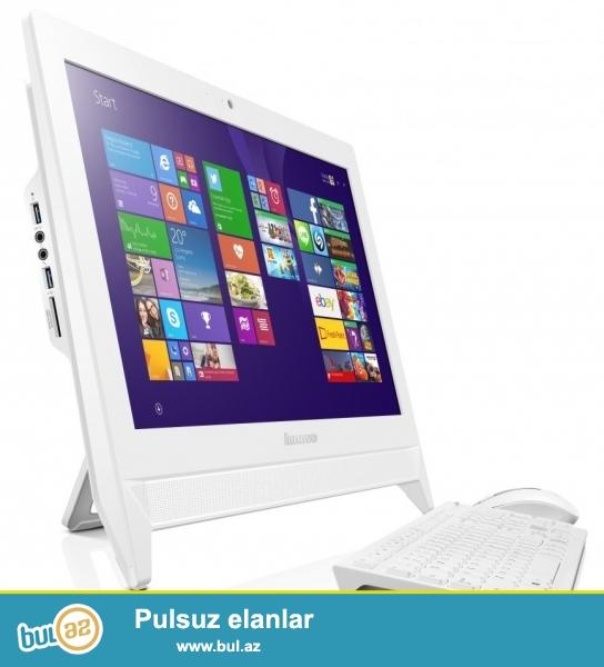 Lenovo-Monoblok C20-30<br /> Pro:i3 4010<br /> Ram:4GB <br /> Vga:1GB<br /> Os:Win 7 <br /> Hdd:500GB <br /> Screen:19 FULL HD<br /> Xususi guclendirilmiw ses sistemine malikdir...