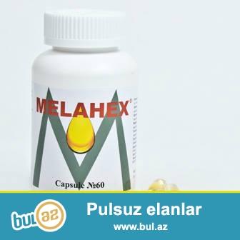 Melahex- Omega 3,6,9 terkibli derman preparatidir.<br /> Melahex omeqa 3 ailsine aid olan eikozapentayen ve dokozaqeksayen evezedilmez  cox doymamis yag tursularindan ibaret kompleksdir...