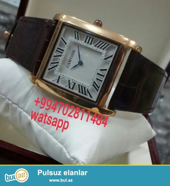 Cartier kisi saati karopka ve hediyye paketi ile birlikde catdirilma bir gun erzinde nar nomrede watsapp vardir diger saat modelleri ile maraqlanan ciddi fikirli sexsler elaqe saxlaya bilerler