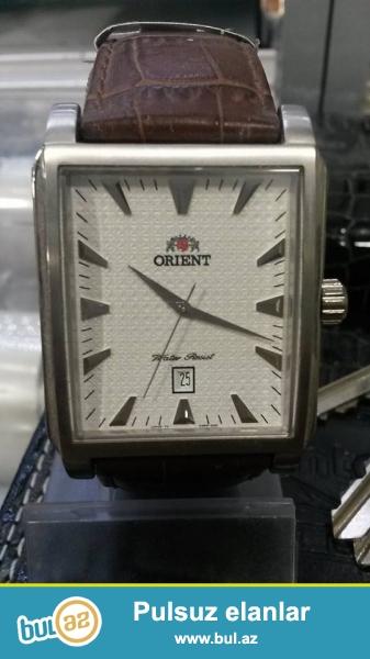 orıent  wr50 (Orginal):Kvars mexanizm,paslanmayan polatdan korpus,mineral şüşe,tebii deri kemer,çox funksiyalı kişi saatıdı,5atm(50metr) su keçirmemezliye sahibdi...