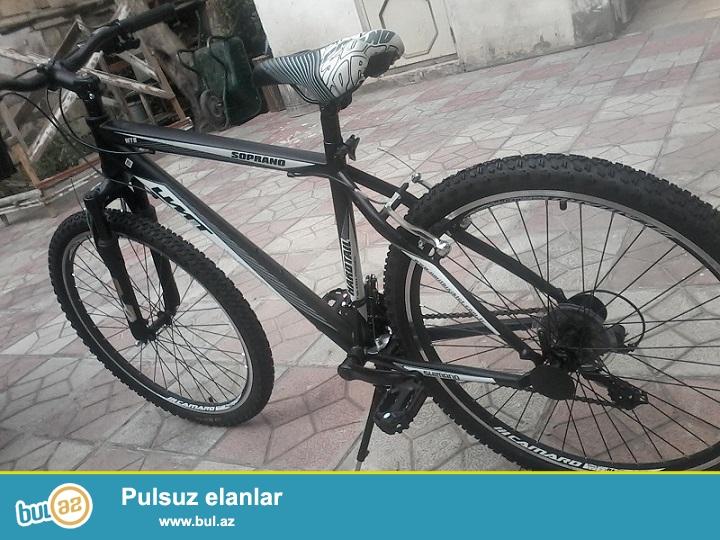 Описание<br /> Горный велосипед 26600 Umit Soprano идеально подходит для езды по бездорожью, по пересеченной местности и поездок по городу в спортивном стиле...