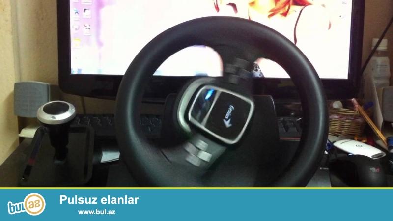 Twin Wheel 900FF<br /> <br /> 900 Derece (masinda ki kimi ) Donen oyun Sukani satiram PC/PS3 Platformasi ucundur karobkanin icindedir az isledmisem<br /> <br /> elave olaraq gormey istesez bu videoya baxa bilersiniz ozum cekmisem<br /> <br /> https://www...