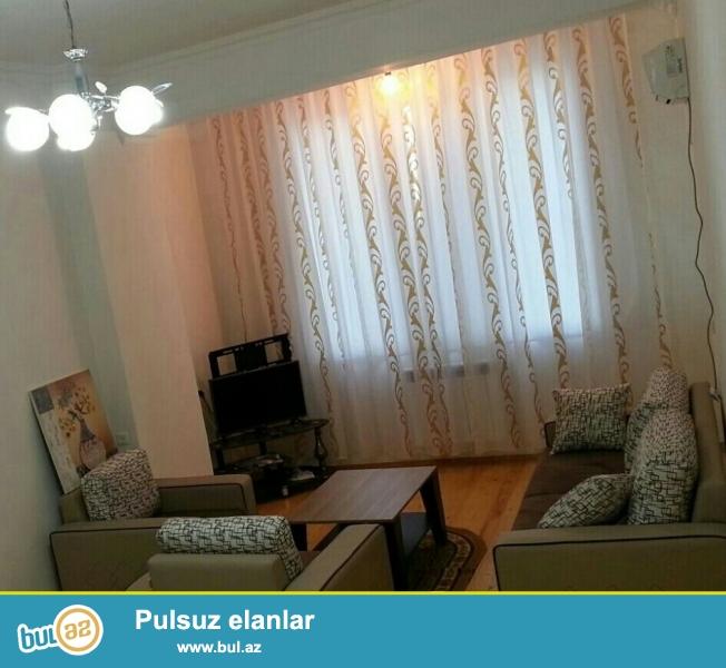 Hовостройка! Cдается 1 комнатная квартира в Насиминском районе, напротив Российского посольства,  в Кубинке...