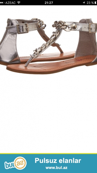 Yay üçün sandalik satılır,razmeri 37 ,xaricden getirilib...