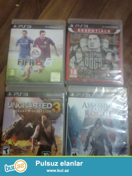 PS-3 oyun diskləri<br />