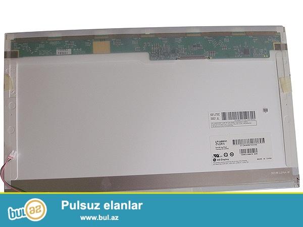 15.6 LCD İnvektorla Ekran İşlənmiş Yaxşı Vəziyyətdədir Az İşlənib