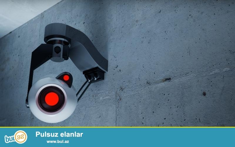 Ofisdə 3 ay işlənmiş videonəzarət sistemi satılır, 3 video kamera, monitor və başqa bütün avadalıqları komplekt, kabelləri ilə satılır...
