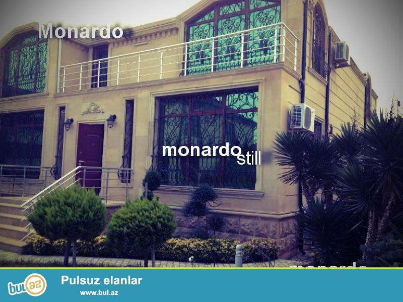 Bakinin en Pristijli ve ekaloji temiz havasi olan Buzovnada mil-erler mehlesinde,Super Monaardo stilinde turk dizaynerleri terefinden insa edilen Skazka Villasi...