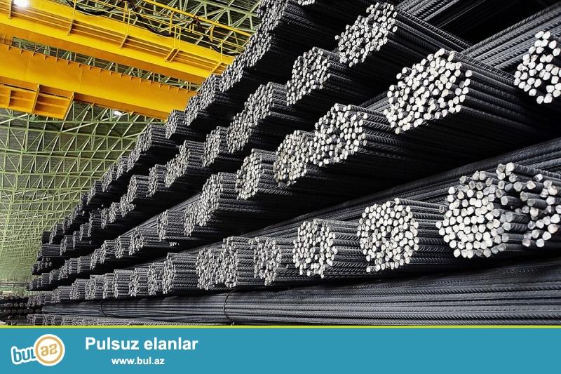 Ukranya istehsalı Кривой Рог şəhərinin məhsulu 300 ton armatur birkaları üstündədir...