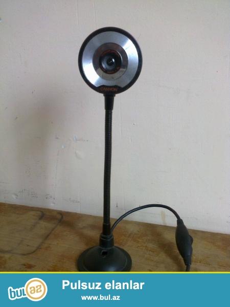 Rusiyadan gətirmişəm, orjinal veb kameradır. Yaxşı vəziyyətdədir.