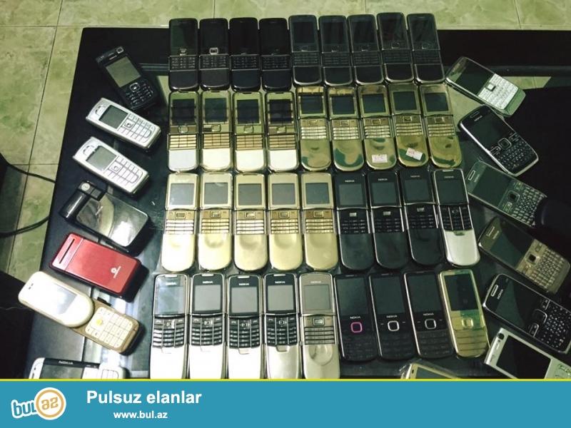 Nokia 8800 art satilir, ideal vezyetde, problemsizdi, aksesuarlari ve korobkasi var! Real alicilar narahat etsin!