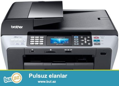 Təcili Brother DCP6690CW printer satlır.Qiyməti 520 manat...