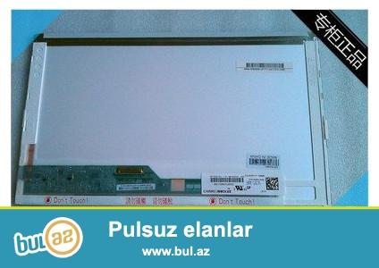 Notbuk ucun original LG Philips istehsali olan LCD ekran 14.0 invertorla satiram. Ishlenmishdi, amma ekran yaxwi veziyyetdedi, hec bir problemi yoxdu...