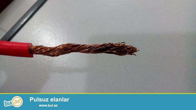 yeni kabel satıram 1x4 (1 top-100m) qiyməti 31 azn