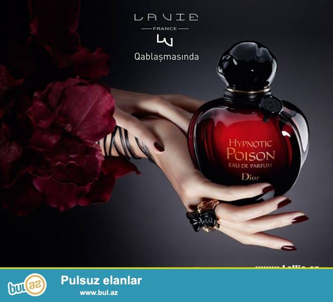 """Fransada istehsal olunub və elə Fransada da """"La Vie Parfum"""" qablarında qablaşdırılmış """"HIPNOTIC POISON DIOR"""" ətirləri..."""