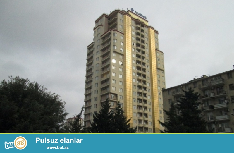 Новостройка! Cдается 4-х комнатная квартира в центре города, в  Насиминском районе, над «Ата Банком»...